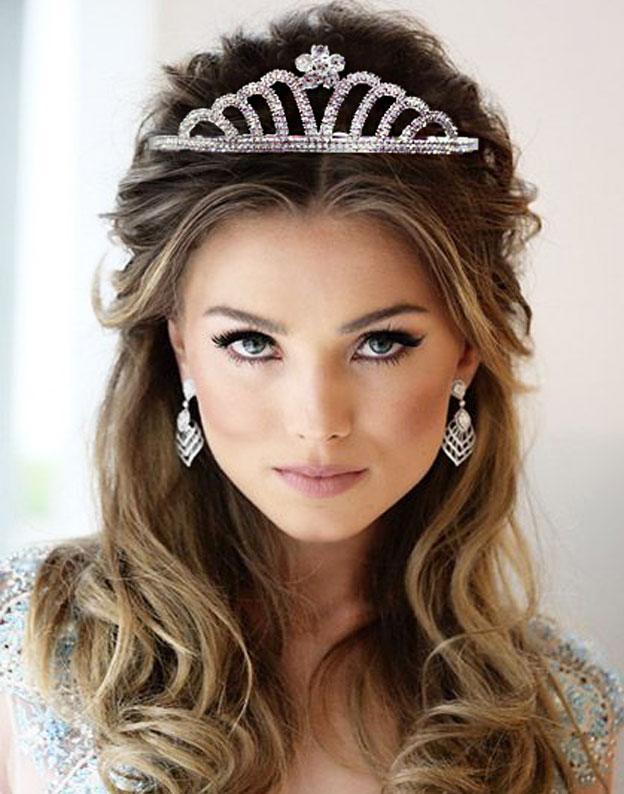 Diadema mireasa Superme Bride cu Swarovski Elements M586