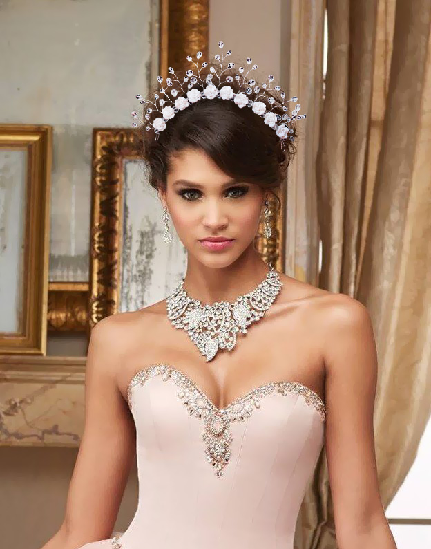 Tiara modelatoare Enchanted Bride M406