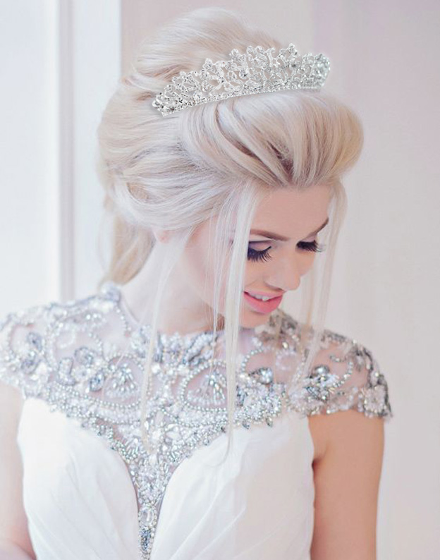 Tiara Exclusive Bride cu Swarovski Elements 813