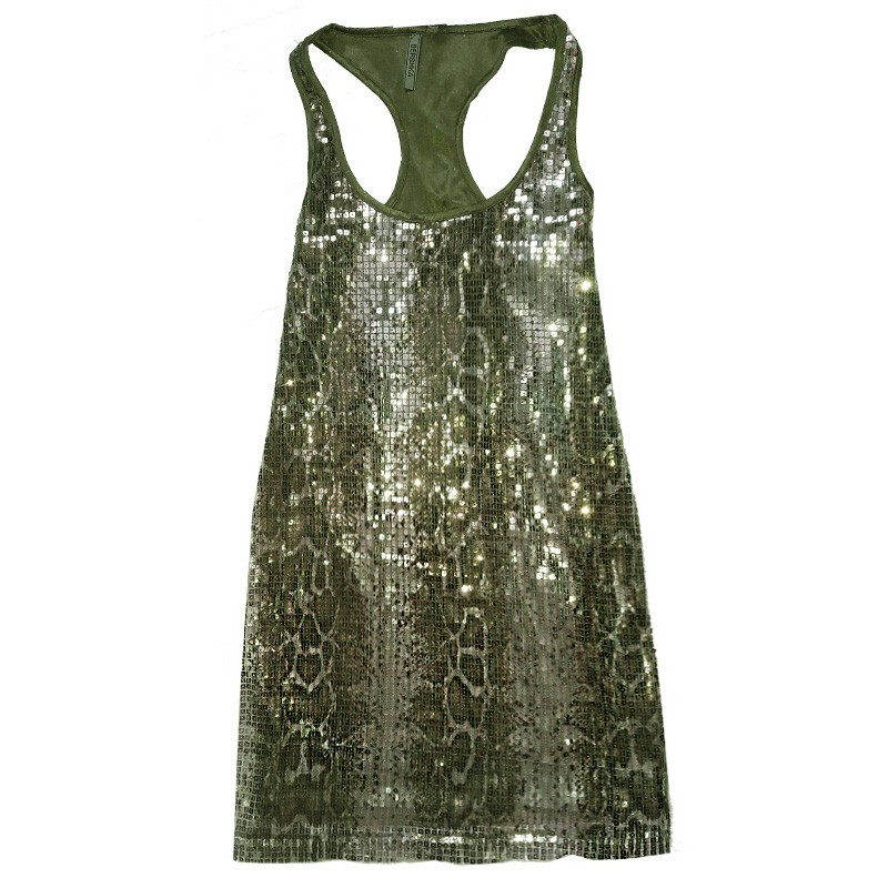 Rochie din paiete Snake Leather RSK7