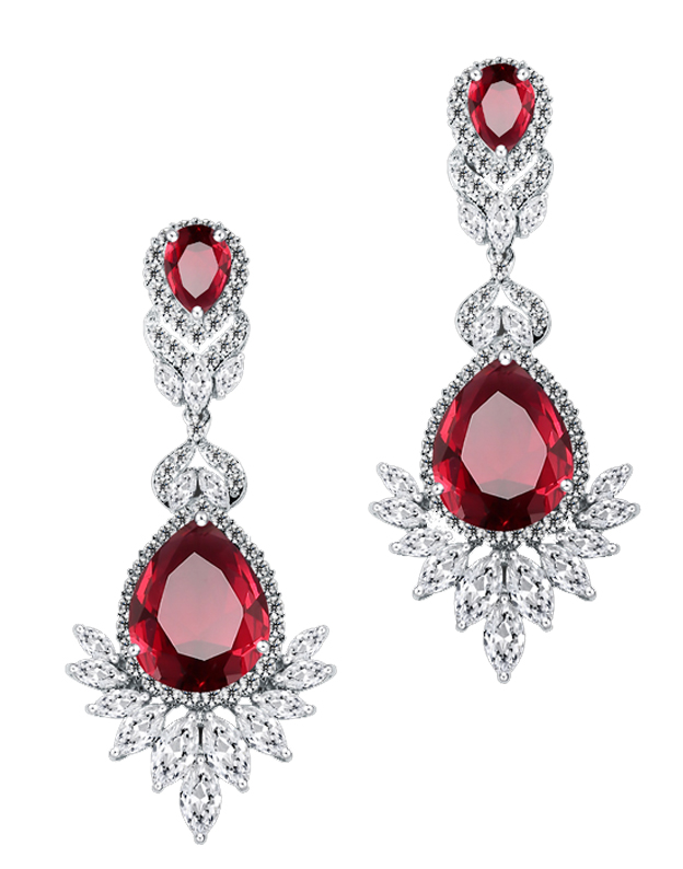Cercei Fashion Chandelier True Ruby NA728