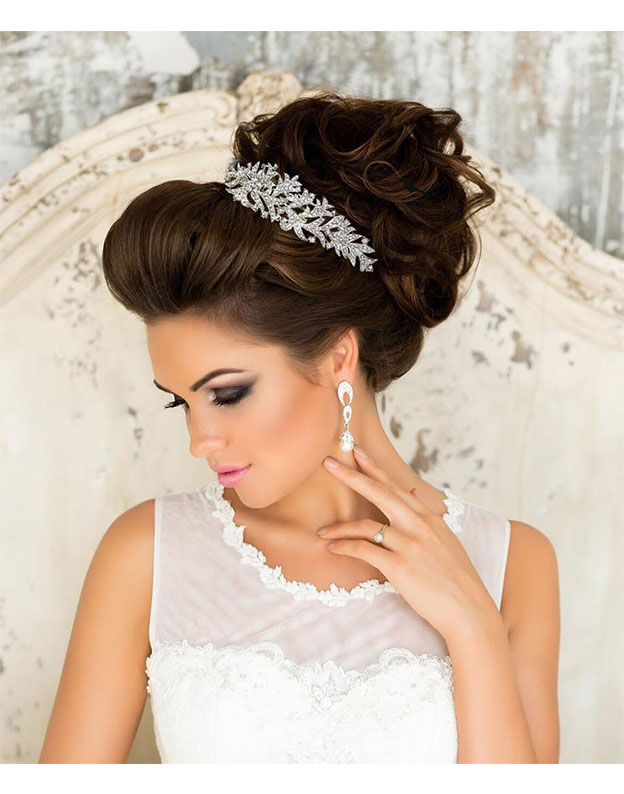 Agrafa Wedding Glam cu Swarovski elements M556
